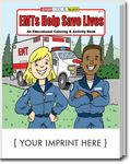 Custom EMTs Help Save Lives Coloring Books