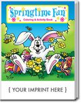 Custom Springtime Fun Coloring Book