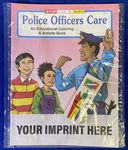 Custom Police Officers Care Coloring Book Fun Pack