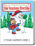 Custom Holiday Fun - Unas Vacaciones Divertidas Spanish Coloring Book