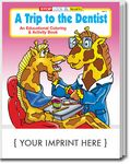 Custom A Trip to the Dentist Coloring Book