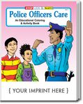 Custom Police Officers Care Coloring Book