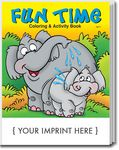 Custom Fun Time Coloring & Activity Book
