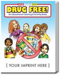 Custom Drug Free Coloring & Activity Book