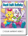 Custom Seat Belt Safety Coloring and Activity Book