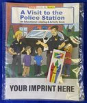 Custom A Visit To The Police Station Coloring Book Fun Pack