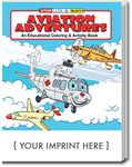 Custom Aviation Adventures Coloring and Activity Book