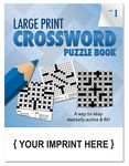 Custom LARGE PRINT Crossword Puzzle Book - Volume 1