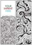 Coloring Bookmark - ZenDoodle