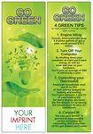 Go Green Bookmark