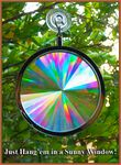 Custom Sun Catcher - Axicon Rainbow Window