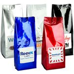 Custom 10 Oz. Gourmet Coffee Bag w/Label