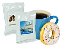 Full Pot Hazelnut Coffee Mug Stuffer w/White Foil Packaging (Printed Label)