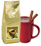 Custom 8 Oz. Hot Chocolate Bag w/Printed Label (Gold)