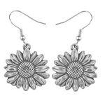 Custom Flower of the Month Earrings - April / Daisy