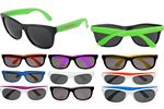 USA PRINTED Retro Neon Sunglasses