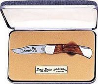 South Dakota State Series Southern Oak Handle Knife