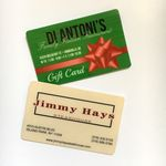 Custom Gift and Loyalty Card w/High Energy Magnetic Strip