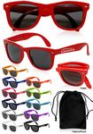 Personalized Solid Foldable Sunglasses