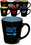 Custom 12 Oz. Two Tone Latte Mugs