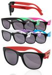 Two Tone Kids Plastic Sunglasses