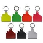 Custom House Shaped Key Tag