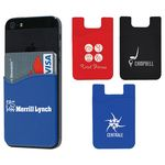 Custom Slim Silicone Smartphone Wallet
