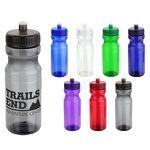 24 Oz. PET Eco-Polyclear Bottle w/Push-Pull Lid
