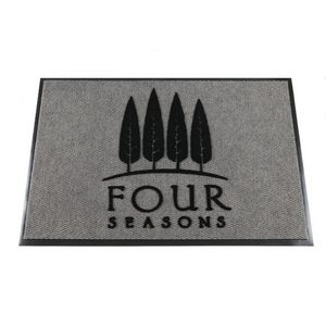Diamondback Berber Flocked Scraper Mat - 1 Color (3x4)