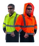 Custom Ahlborn Heavy Duty Hi Vis Rain Suit