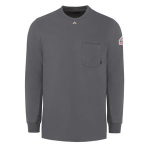 Custom Bulwark Flame Resistant Long Sleeve Tag-less Shirt
