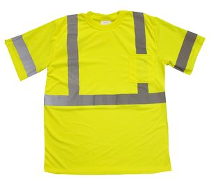 Custom Safety Brite Hi Vis Class 3 Safety T-Shirt