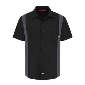 Custom Dickies Industrial Color Block Short Sleeve Shirt