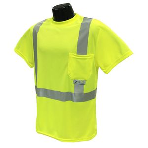 Custom Radians Max-Dri Class 2 Hi Vis T-Shirt with Stretchable Stripes