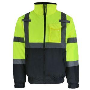 Custom Safety Brite High Visibility Winter Jacket