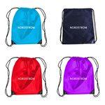 Custom Glossy Backpack Drawstring Bag