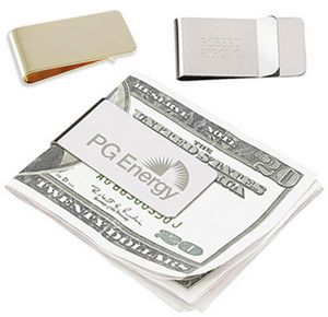 Stainless Steel Executive Money Clip