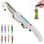 Custom Classic Stainless Steel Corkscrew Wine Bottle Opener