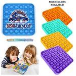 Pop It Fidget Toy - Square Full color