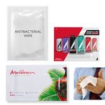 Custom Hand Wipes - 70% Alcohol Antibacterial - Individual pack