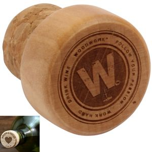 Classic Cork Wine Bottle Stopper
