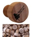 Custom Bordeaux Cork Wine Bottle Stopper