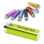 Custom LCD Screen Metal Power Bank Battery Recharger