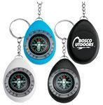 Custom Navigation Compass Key Chain