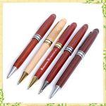 Custom Carved Wood Luxury Pen