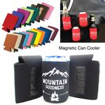 Collapsible Magnetic Can And Bottle Cooler Holder