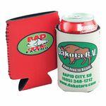 Pocket Pal Neoprene Beverage Insulator w/4-Color Process