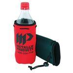 Bottle Chiller Scuba Beverage Insulator w/Drawstring