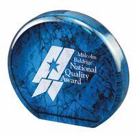 Aurora Marble Acrylic Award