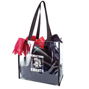 Clear Stadium Tote Bag 12 X12 X6 Asc412 Ideastage Promotional Products